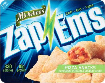 Michelina's® Zap 'Ems™ Pepperoni Pizza Snacks 7.5 oz. Tray