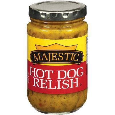Majestic Hot Dog Relish Pickles 8 fl. oz.
