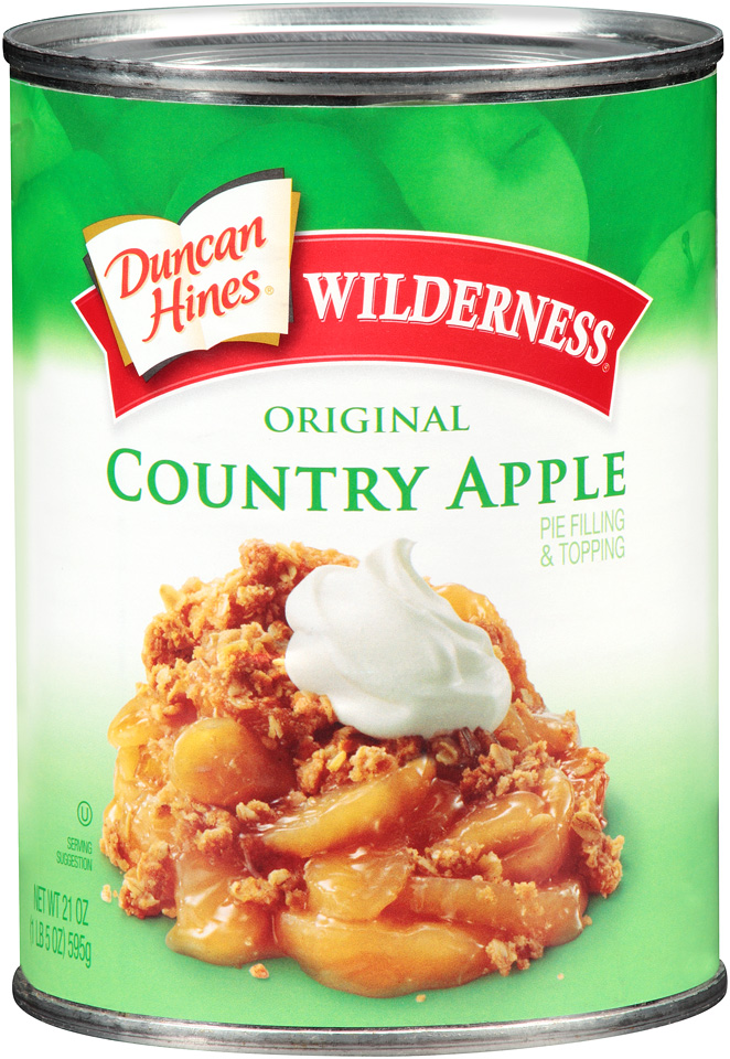 Duncan Hines® Wilderness® Original Country Apple Pie Filling & Topping
