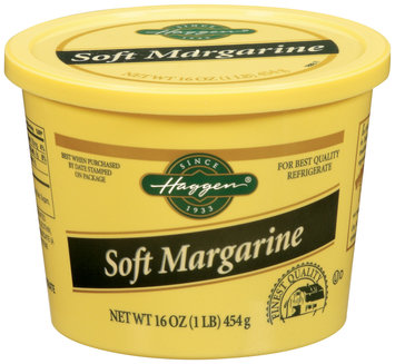 Haggen Soft Margarine 16 Oz Tub