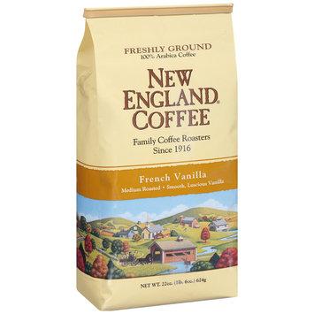 New England® Coffee Freshly Ground French Vanilla Coffee 22 oz. Bag