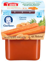 Gerber 2nd Foods Carrots 8 Oz Sleeve