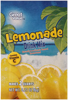 Great Value™ Unsweetened Lemonade Drink Mix