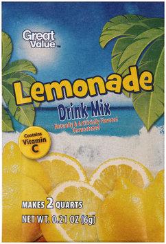 Great Value™ Unsweetened Lemonade Drink Mix