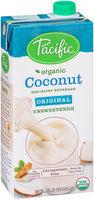 Pacific Organic Coconut - Unsweetened Original