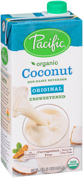 Pacific Organic Coconut - Unsweetened Original