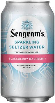 Seagram's Blackberry Raspberry Sparkling Seltzer Water 12 oz Can