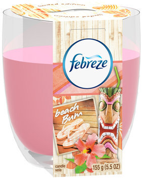Candle Febreze Candle Beach Bum Air Freshener (1 Count, 5.5 Oz)