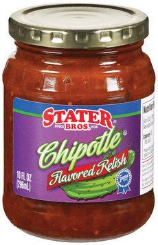 Stater Bros. Chipotle Flavored Relish 10 Fl Oz Jar
