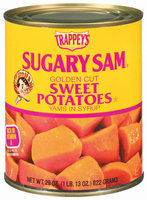 Trappey's Sugary Sam Golden Cut Yams In Syrup Sweet Potatoes