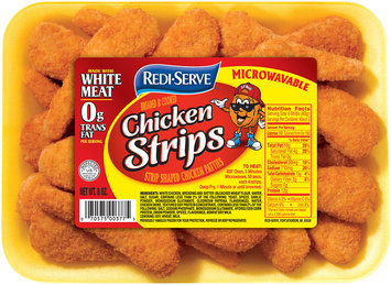 Redi-Serve™ Breaded & Cooked Chicken Strips 8 oz. Tray