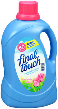Final Touch® Spring Fresh Original Fabric Softener 120 fl. oz. Bottle