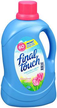 Final Touch® Spring Fresh Original Fabric Softener 120 fl. oz. Bottle