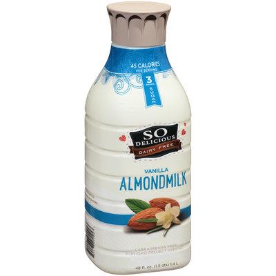 So Delicious® Vanilla Almondmilk 48 fl. oz. Bottle
