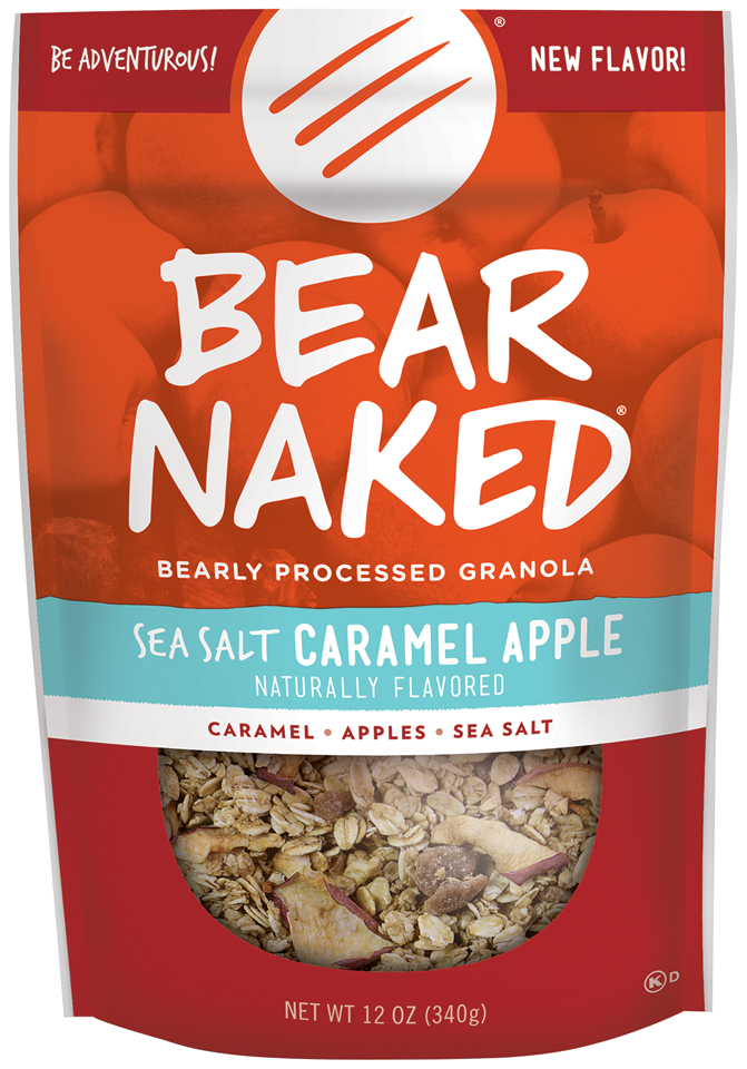Bear Naked® Sea Salt Caramel Apple Granola