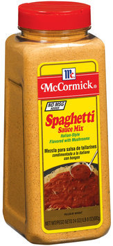 Spice Blends Italian-Style Spaghetti Sauce Mix 24 Oz Shaker