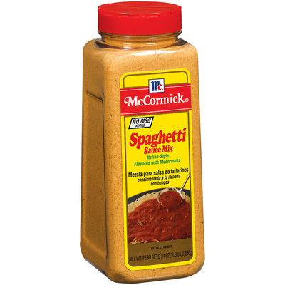 Spice Blends Italian-Style Spaghetti Sauce Mix 24 Oz Shaker