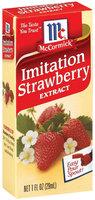 Specialty Extracts Imitation Strawberry Extract 1 Fl Oz Box