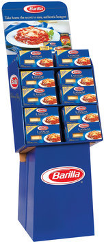 Barilla Lasagne Display