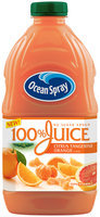 Ocean Spray® 100% Juice No Sugar Added Citrus Tangerin Orange Flavor 64 oz Plastic Bottle