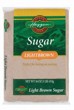 Haggen Light Brown Sugar 16 Oz Bag