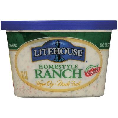 Litehouse Homestyle Ranch Veggie Dip 15.5 Fl Oz Tub