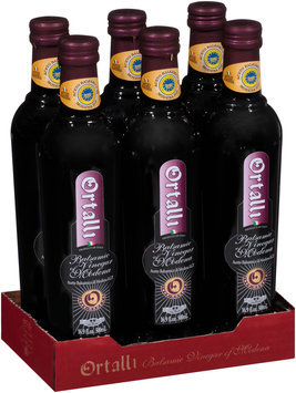 Ortalli Red Label 2 Leaves Balsamic Vinegar of Modena 16.9 fl. oz. Bottle