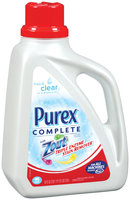 Purex Liquid Detergents Complete Free & Clear W/Zout  Laundry Detergent 83 Oz Jug