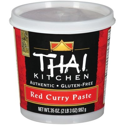 Thai Kitchen Food Service Red Curry Food Service 35 Oz Tub