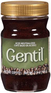 Gentil® Instant Coffee Acid Neutralized 3.5 oz. Jar