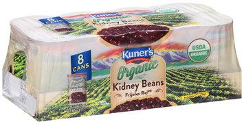 Kuner's® Organic Kidney Beans 8-15.25 oz. Cans