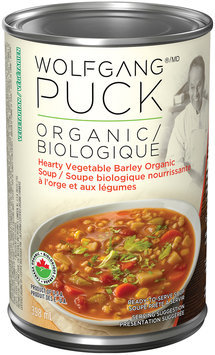 Wolfgang Puck Organic Hearty Vegetable Barley Soup 398mL