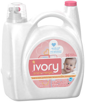 Ivory Snow HE Liquid Laundry Detergent 96 Loads 4.43 Liters