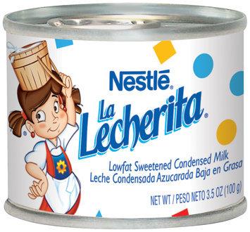 Nestlé LA LECHERITA Lowfat Sweetened Condensed Milk 6-3.5 oz Cans