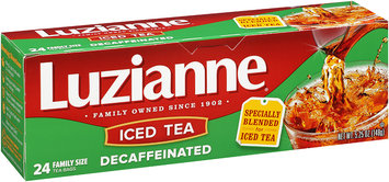 Luzianne® Decaffeinated Iced Tea 24 ct. Bag.