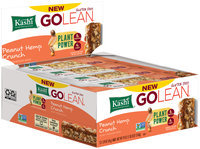 Kashi® GOLEAN® Peanut Hemp Crunch Plant-Powered Bars 12-1.59 oz. Bars