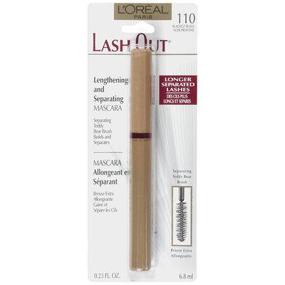 Lash Out Blackest Black 110 Mascara .23 Fl Oz Peg