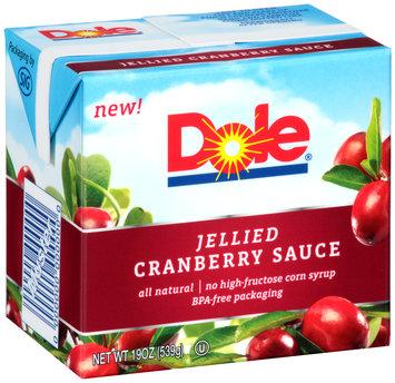 Dole Jellied Cranberry Sauce