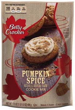 Betty Crocker® Pumpkin Spice Cookie Mix 17.5 oz. Pouch