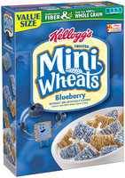 Kellogg's Frosted Mini-Wheats Blueberry Cereal