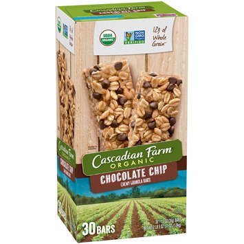 Cascadian Farm™ Organic Chocolate Chip Chewy Granola Bars 30 ct Box