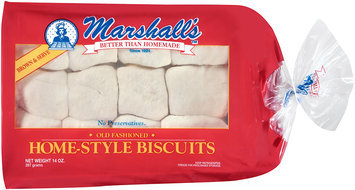 Marshall's™ Old Fashioned Home-Style Biscuits 14 oz. Tray