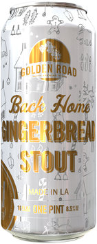 Back Home Gingerbread Stout Beer 16 fl. oz. Can