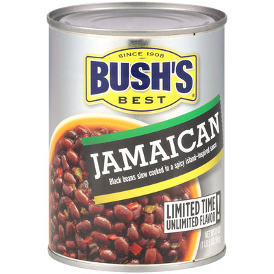 Bush's Best® Baked Beans Jamaican 21 oz. Can
