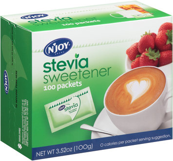 N'Joy® Brand Stevia Sweetener 100 Packets Box