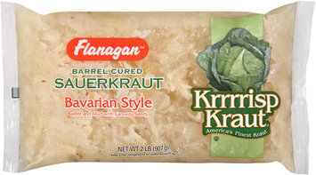 Flanagan™ Krrrrisp Kraut® Bavarian Style Barrel Cured Sauerkraut 32 oz. Bag