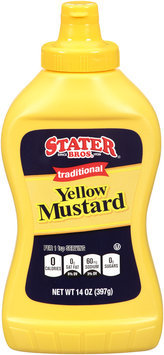 Stater Bros.® Traditional Yellow Mustard 14 oz. Squeeze Bottle