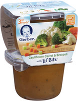 Gerber® 3rd Foods  Lil' Bits Cauliflower Carrot & Broccoli