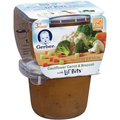 Gerber® 3rd Foods  Lil' Bits Cauliflower Carrot & Broccoli