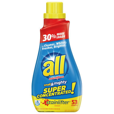 all® stainlifter® Laundry Detergent 53 Loads 40 fl. oz. Bottle